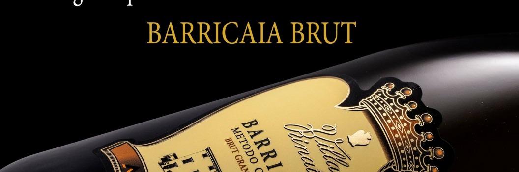Barricaia Brut fra Villa Rinaldi premieret som Italiens bedste bobler!